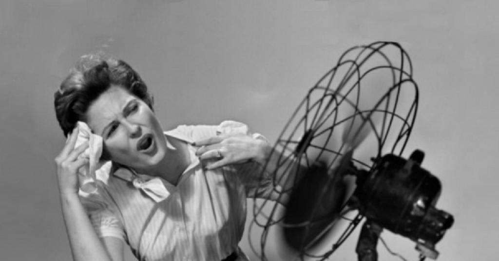 caldane in menopausa